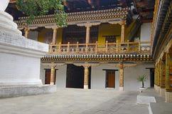 Pungtang Dechen Photrang Dzong o palacio de la gran dicha Visión interna Centro administrativo Punakha Dzong fotografía de archivo libre de regalías