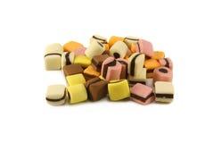 Punhado de doces do liquorice imagens de stock royalty free