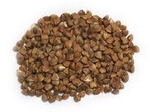 Punhado do trigo mourisco Foto de Stock