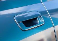Punho da porta de carro Imagem de Stock