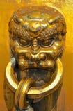Punho de bronze ornamentado imagens de stock royalty free