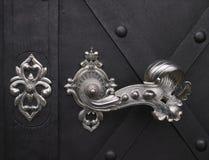 Punho de porta decorativo Fotografia de Stock Royalty Free
