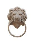 Punho de porta do leão Fotos de Stock