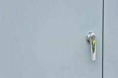 Punho de porta do metal Fotografia de Stock