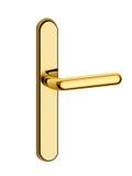 Punho de porta do ouro ilustração royalty free