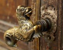 Punho de porta do vintage Fotografia de Stock