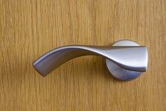 Punho de porta moderno Fotografia de Stock