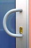 Punho de porta plástico Fotografia de Stock Royalty Free