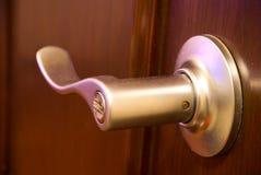 Punho de porta velho Fotografia de Stock Royalty Free
