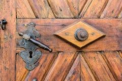 Punho de porta velho Imagem de Stock Royalty Free