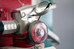 Punho do extintor de incêndio Fotografia de Stock Royalty Free