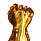 Punho do ouro Fotografia de Stock
