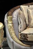 Punho do sofá em detalhe Imagens de Stock Royalty Free