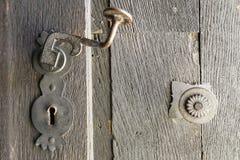 Punho e botão velhos foto de stock royalty free