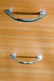 Punhos da gaveta Fotografia de Stock Royalty Free