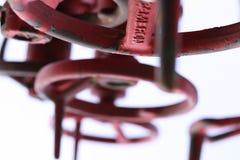 Punhos da válvula Foto de Stock