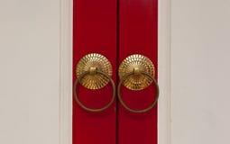 Punhos de porta Imagens de Stock