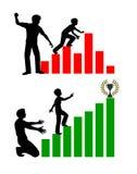 Punição corporal nas escolas ilustração do vetor