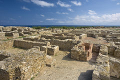 Punic city of Kerkouane Stock Images