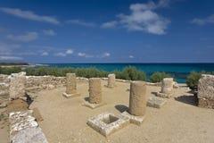 Punic city of Kerkouane Stock Images