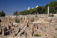The Punic quarter on Byrsa hill Royalty Free Stock Photography