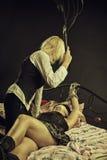 Punishment without crime Stock Photo