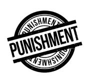 Punishment rubber stamp Royalty Free Stock Photos