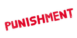 Punishment rubber stamp Stock Photography