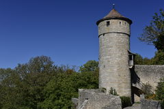 Punishment Tower in Rothenburg ob der Tauber, Germany Stock Image