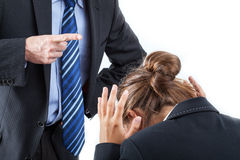 Punishment at work Royalty Free Stock Images