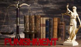 Punition, concept de justice, marteau de cour, thème de loi, maillet de ju photos libres de droits