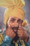 Punjab Traditinal Outfit Royalty Free Stock Photography
