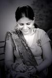 Punjaban flicka Arkivbild