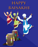 Punjabi baisakhi Royalty Free Stock Photos