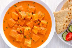 Punjabi curry-Paneer butter masala Stock Photo