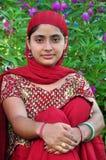Punjabi girl Stock Image