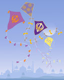 Punjabi kites Stock Photography