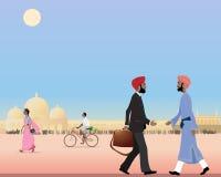Punjabi meeting Stock Photography