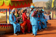 Punjabi music and Dance by Transgender artists Royalty Free Stock Photography