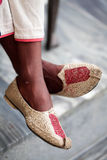 Punjabi shoes Royalty Free Stock Photo