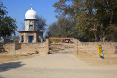 Punjabi Sikh architecture, Lakhi Jungle. Stock Photography