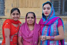 Punjabi women Stock Photo