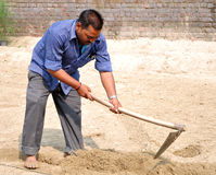 Punjabilandwirt Lizenzfreie Stockfotos