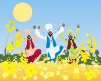 Punjabiskörd Arkivfoton