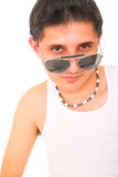Punk In 80s Style Royalty Free Stock Photo