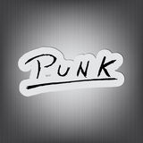 Punk Background! Royalty Free Stock Photography