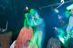 Punk band concert Royalty Free Stock Image