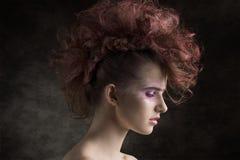 Punk beautiful woman Stock Photography