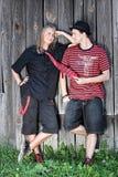 Punk couple Stock Image