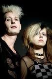 Punk couple Royalty Free Stock Image